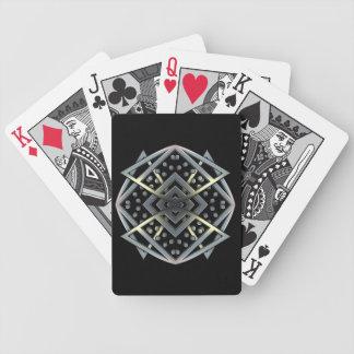 Metal Works - Medallian Bicycle Playing Cards
