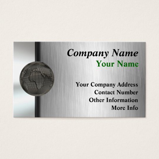 Metal World Business Cards
