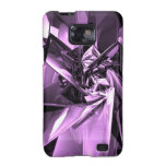 Metales de la púrpura samsung galaxy s2 carcasa