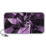 Metales de la púrpura sistema altavoz