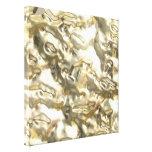 Metales preciosos - crudos impresiones en lona