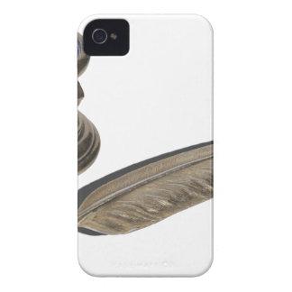 MetalFeatheredPenHolder030313.png iPhone 4 Cover