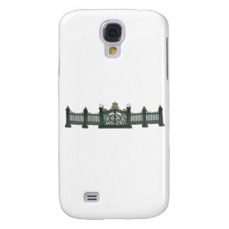MetalFenceAndGate123111 Samsung Galaxy S4 Case