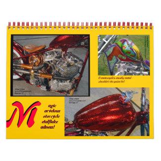 Metalflake Madness Calendars