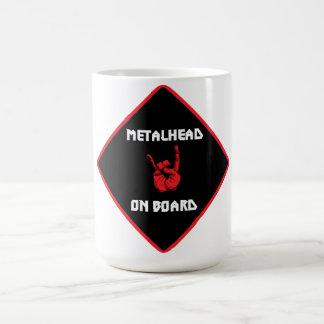 Metalhead a bordo la taza