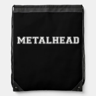 Metalhead Drawstring Bag