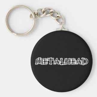 Metalhead Llavero Redondo Tipo Pin
