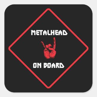 Metalhead On Board Sticker