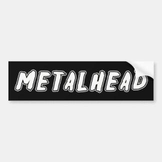 Metalhead Pegatina Para Auto