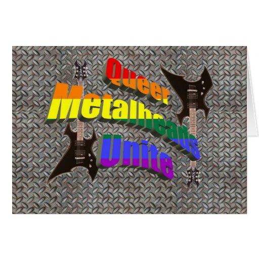 Metalheads raro une felicitaciones