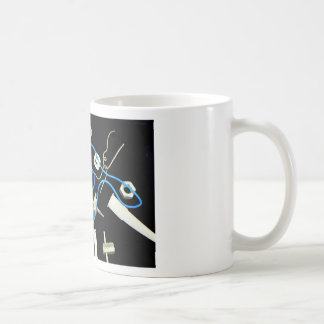 metalic abstract lateral canvas designs coffee mugs