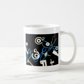 metalic abstract lateral canvas designs mugs