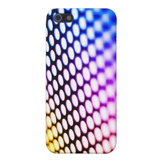 Metalic backlit shinny background case for iPhone SE/5/5s