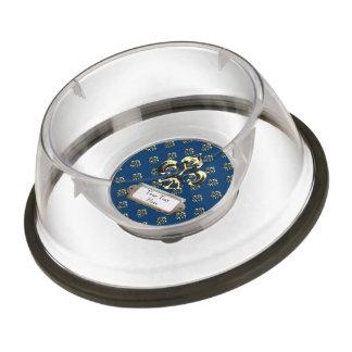 Metalic Fleur de lis (Gold) Bowl