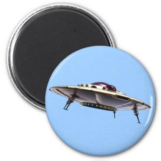 Metalic UFO Magnet