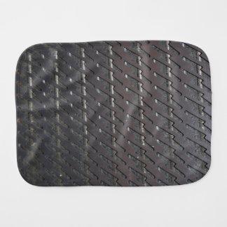 Metalic Vent Cover Burp Cloth