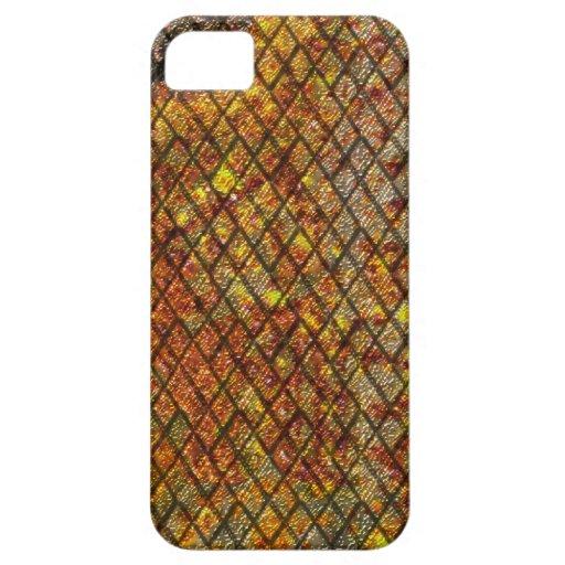 Metálico oxidado funda para iPhone SE/5/5s