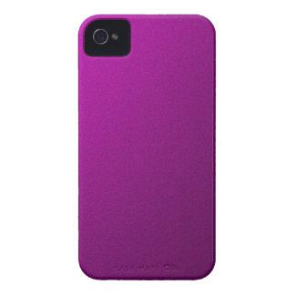 Metálico púrpura iPhone 4 carcasas