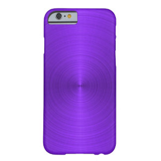 Metálico púrpura vivo funda de iPhone 6 barely there