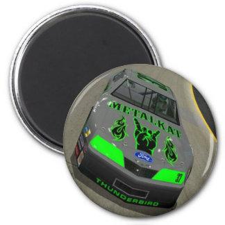 Metalkat Race Car Magnet