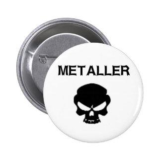 Metaller Pin Redondo De 2 Pulgadas