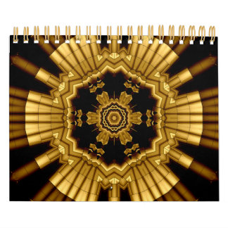 Metallic 2011 calendar