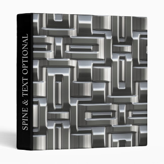 Metallic Abstract Weave Options 1A-1D Binders