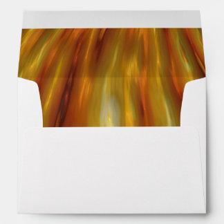 Metallic Amber Waves Of Grain Envelope