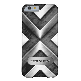Metallic Armor with Name Plate - Military Pattern Barely There iPhone 6 Case