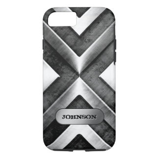 Metallic Armor with Name Plate - Military Pattern iPhone 7 Case