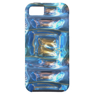 Metallic Art Crushed Multicolor Metal Foil iPhone SE/5/5s Case