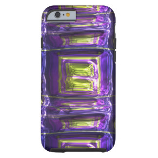 Metallic Art Crushed Multicolor Metal Foil Tough iPhone 6 Case
