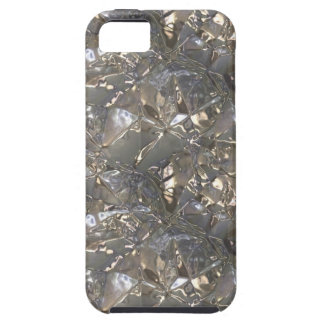 Metallic Art Fluid Gold and Silver Alloy 01 C iPhone SE/5/5s Case