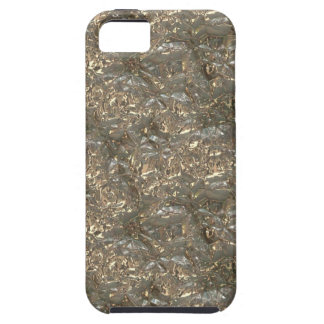 Metallic Art Fluid Gold and Silver Alloy 01 D iPhone 5 Cover