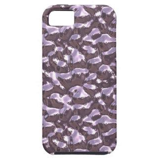 Metallic Art Molten Bubbling Metal Violet Seamless iPhone 5 Case