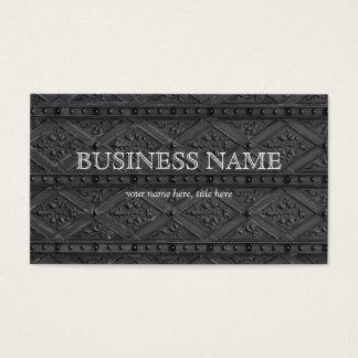 Metallic Art Pattern Business Card