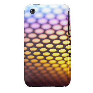 Metallic backlit shinny background iPhone 3 covers