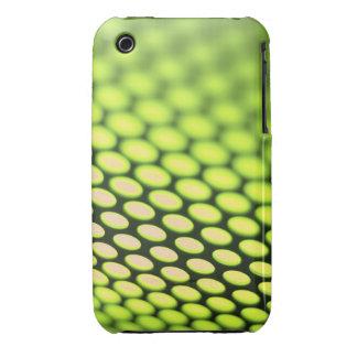 Metallic backlit shinny background iPhone 3 case