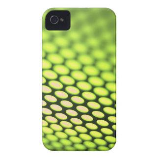 Metallic backlit shinny background iPhone 4 Case-Mate case