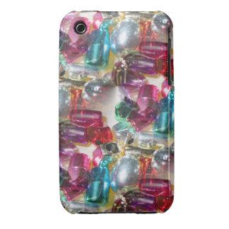 Metallic bead bling- iphone 3 case