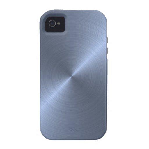 Metallic Blue Case-Mate iPhone 4 Cases