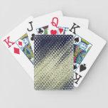 Metallic Blue Playing Cards