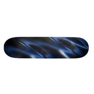Metallic blue skate board decks