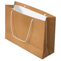 Metallic Bronze-Colored Large Gift Bag