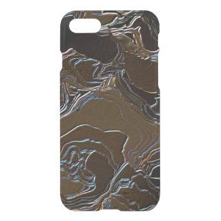 Metallic Brown Camouflage iPhone 7 Case