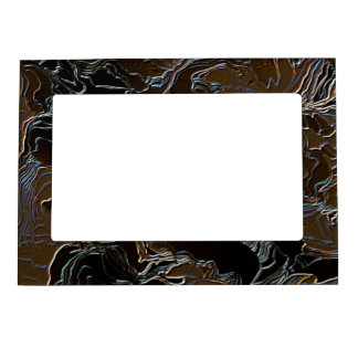 Metallic Brown Camouflage Magnetic Frame