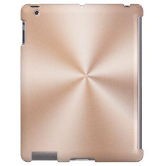 Metallic Brushed Copper