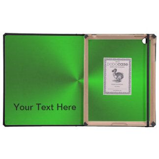 Metallic Brushed Green Cover For iPad