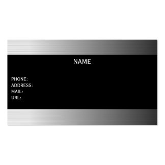 metallic businesscard Double-Sided standard business cards (Pack of 100)