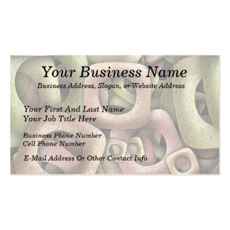 Metallic Cereal Double-Sided Standard Business Cards (Pack Of 100)